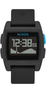 2020 Nixon Base Tide Uhr A1104 - Schwarz / Blau