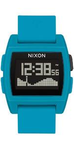 2020 Nixon Base Maré Relógio A1104 - Resina Azul