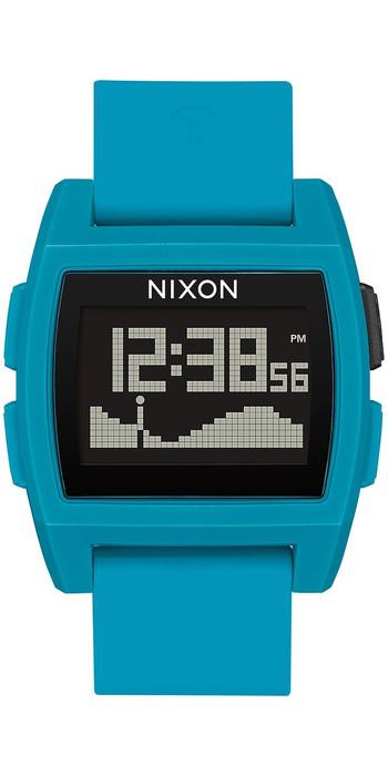2020 Nixon Montre Des Marées De Base A1104 - Résine Bleue