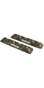 2020 Northcore Aerodynamic Roof Rack Bar Pads NOCO21CB - Camo