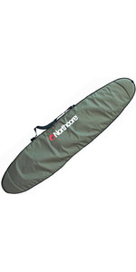 """2020 Northcore Aircooled 9'6 """"longboard Surfboard Sac De Jour / Voyage Noco33b - Olive"""