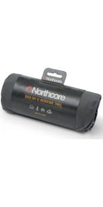 2020 Northcore Sneldrogende Microfiber Handdoek Noco125 - Grijs