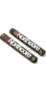 2020 Northcore Roof Rack Bar Pads NOCO21AB - Camo