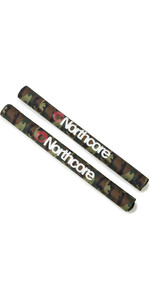 2020 Northcore Rack Large Load 72cm Bar Pads NOCO21BB - Camo