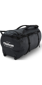 2020 Northcore Wheeled Duffel Bag 110L NOCO123DC - Black / White