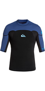 2020 Quiksilver Mens Syncro 1mm Short Sleeve Neoprene Top EQYW903005 - Black / Blue