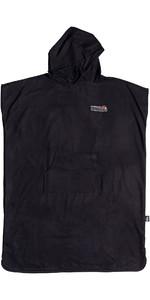 2020 Quiksilver Mini-Pack Hooded Towel / Change Robe EQYAA03914 - Black