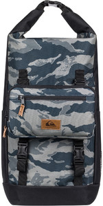2020 Quiksilver Sea Stash Plus Back Pack EQYBP03608 - Camo / Black