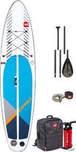 2020 Red Paddle Co 11'0 Pack Sup Sup Gonflable Compact - Planche, Sac, Pompe, Pagaie Et Laisse