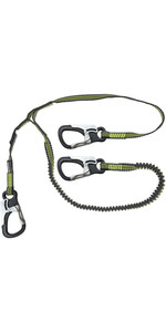 2020 Spinlock 3 Clip Elasticated Performance Line DWSTR03 - Noir