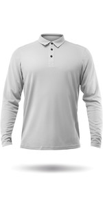 2020 Zhik Long Sleeve ZhikDry LT Polo Ash ATP0870