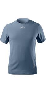 2021 Zhik Heren XWR Waterbestendig T-shirt Met Korte Mouwen ATE0096 - Grijs