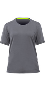 2020 Zhik Womens ZhikDry LT Short Sleeve Top TOP78W - Grey
