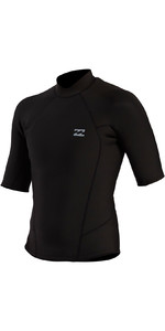 2021 Billabong Mens Absolute 2mm Short Sleeve Wetsuit Top W42M67 - Black
