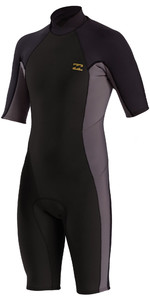 2021 Billabong Mens Absolute 2mm Shorty Wetsuit W42M72 - Charcoal