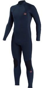 2021 Billabong Mens Absolute 3/2mm Back Zip Wetsuit ABYW100105 - Slate Blue