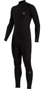 2021 Billabong Mens Absolute 3/2mm Back Zip Wetsuit ABYW100105 - Black