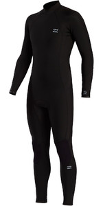 2021 Billabong Mens Absolute 3/2mm Back Zip Wetsuit W43M55 - Black