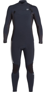 2021 Billabong Mens Absolute 3/2mm Chest Zip GBS Wetsuit U43M56 - Navy