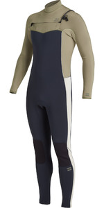 2021 Billabong Mannen Revolutie 3/2mm Chest Zip Wetsuit U43m55 - Navy