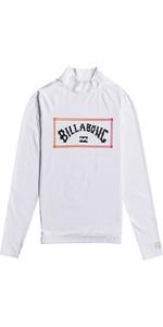 2021 Billabong Unity Lycra Vest Lange Mouwen Voor Heren W4my12 - Wit