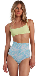 2021 Billabong Damen Hightide Neoprenanzug Shorts W41g58 - Island Blue Neo