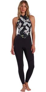 2021 Billabong Womens Salty Jane 2mm Sleeveless Wetsuit W42G50 - Maui Black