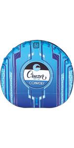 2021 Connelly Cruzer Softtop Ultra Plüsch Konkav Deck Rohr 67190002 - Blau