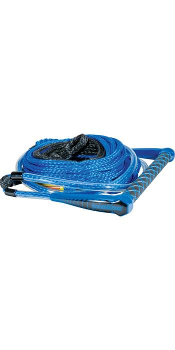 2021 Connelly Easy-Up Wasserski 75ft Seil & Griff Mit 1 Abschnitt 82190002- Blau