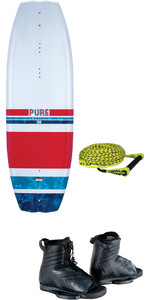 2021 Connelly Pure Wakeboard w /  Optima Boots & Sport Package 75ft 1 Section Rope