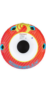 2021 Connelly Spin Cycle Classic Donut Tube 67191 - Rot