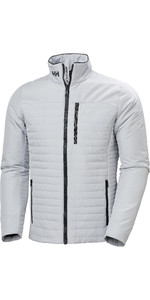 2021 Helly Hansen Mens Crew Insulator Jacket 54344 - Grey Fog