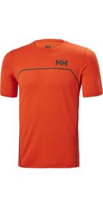 2021 Helly Hansen Hp Folie Ozean T-shirt 34160 - Kirschtomate