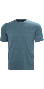2021 Helly Hansen Mens Lifa Merino Lightweight T-Shirt 48101 - North Teal