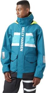 2021 Helly Hansen Heren Salt Coastal Jas 30221 - Blauwgroen