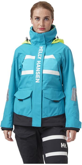 2021 Helly Hansen Damen- Salt Coastal Jacke 30344 - Caribbean Sea