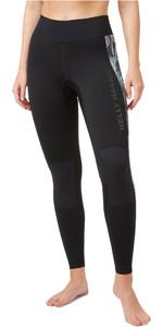 2021 Helly Hansen Waterwear 2mm Panty Voor Dames 34021 - Zwart
