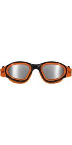 2021 Huub Aphotic Polarised Mirror Goggles A2-AGO - Orange