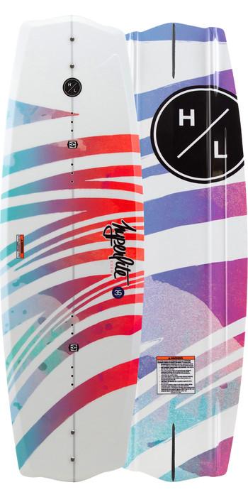 2021 Hyperlite Eden Wakeboard H20ed - Weiß