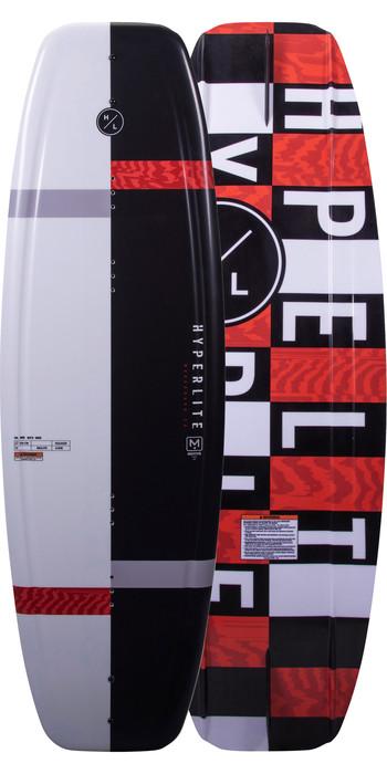 2021 Hyperlite Motiv Wakeboard H20mo - Schwarz / Rot