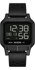 2021 Nixon Heat Surf Watch A1320  - All Black