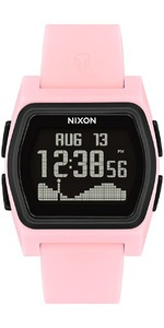 2021 Nixon Rival Surf Watch 2531-00 - Pink / Black