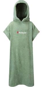2021 Northcore Kids Beach Basha Change Robe / Poncho NOCO24 - Green