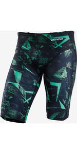 2021 Orca Triathlon Jammer Hommes Short KS17 - Imprimé Vert