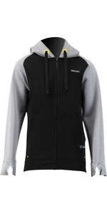 2021 Prolimit Mens 1.5mm Wetsuit Zipped SUP Hoody 14420 - Black / Grey