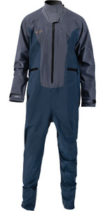 2021 Prolimit Mænds Nordiske Sup Front Zip Drysuit 10065 - Stål Blå / Indigo