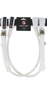 2021 Prolimit WC Harness Lines Vario Buckle 76065 - White