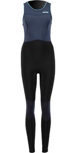 2021 Prolimit Womens Airmax 1.5mm Zodiac SUP Long John Wetsuit 14720 - Slate / Black / Print