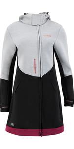 2021 Prolimit Frauen Pure Racer Sauerstoff Neoprenanzug Jacke 05041 - Grau / Schwarz / Wein
