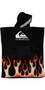 2021 Quiksilver Junior Hooded Towel AQBAA03033 - Black